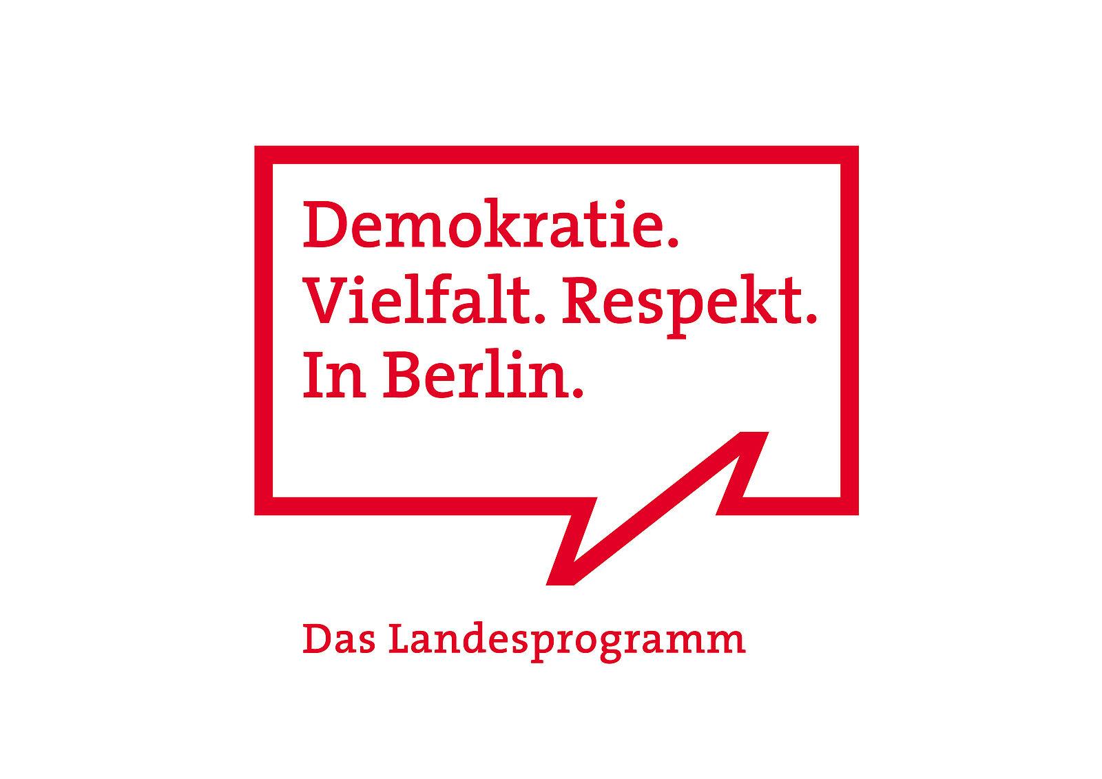 logo frderprogramm demokratie vielfalt respekt in berlin - Anne Frank Lebenslauf