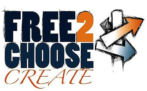 Logo des Projekts »Free2Choose-Create«